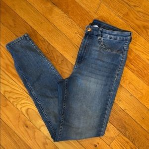 Divided high waisted skinny jeans!